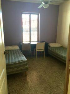 tweepersoonskamer in het huis